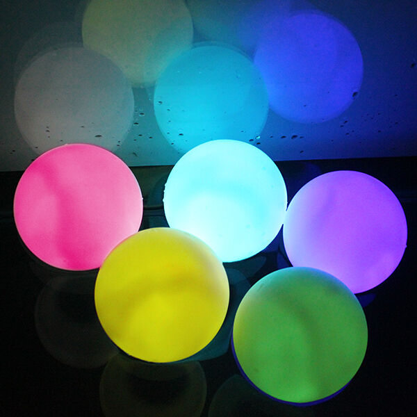 Outdoor Color Changing Led Flickering Floating Light Ball