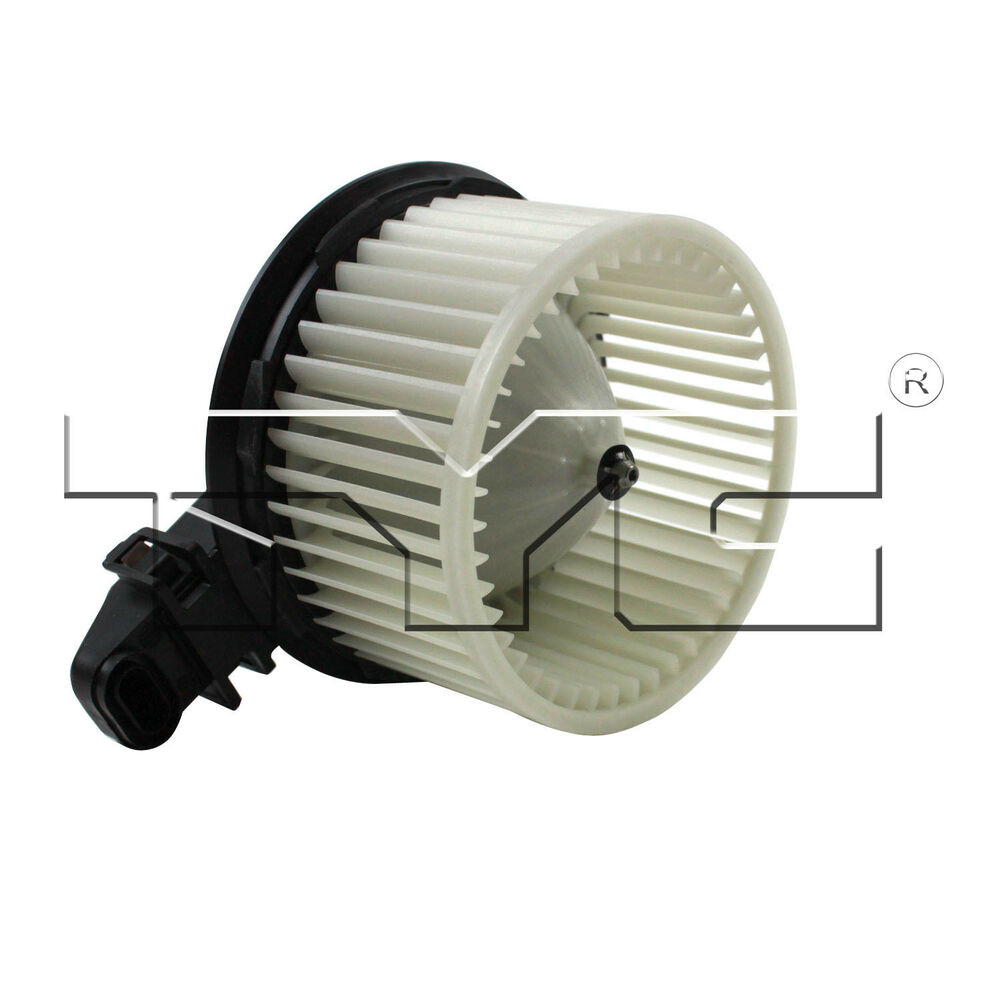 Tyc 700223 hvac blower motor ac condenser blower assembly for Car ac blower motor