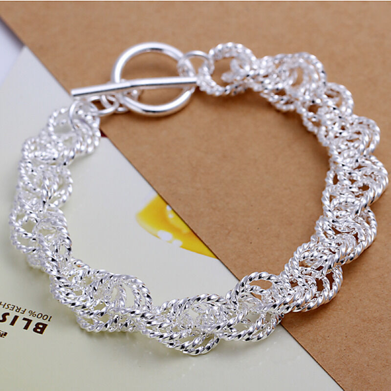 hot! wholesale sterling solid silver fashion bangle ...