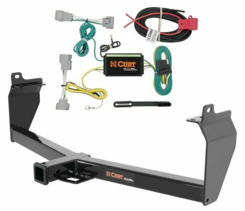 Curt Class 3 Trailer Hitch  U0026 Wiring Kit For Jeep Cherokee