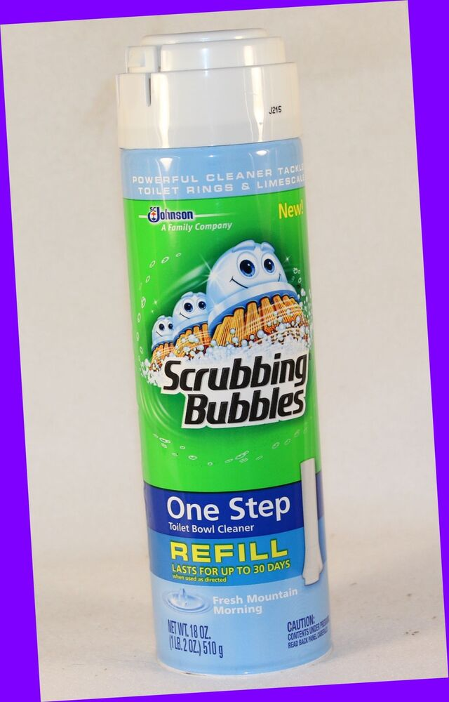 1 Scrubbing Bubbles One Step Toilet Bowl Cleaner Fresh