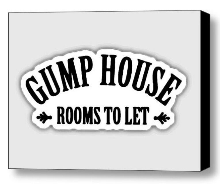 Ebay Houses For Rent: Framed Forrest Gump House Rent Sign Prop Dispaly Piece