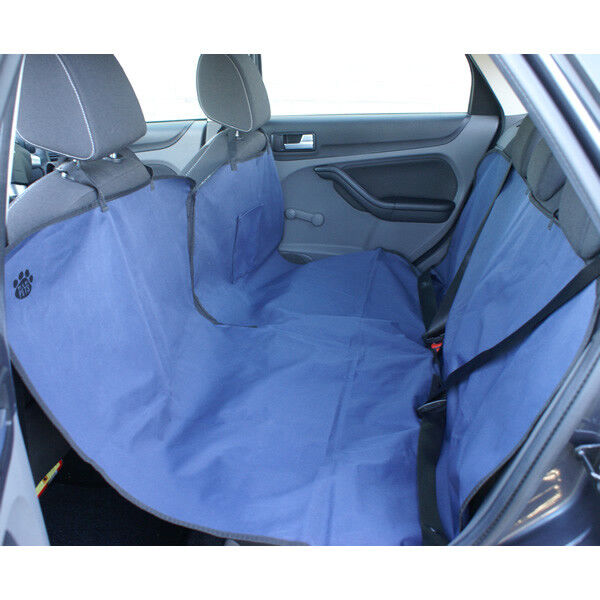 me my car rear back seat protector spill proof cover for dogs pets hammock ebay. Black Bedroom Furniture Sets. Home Design Ideas