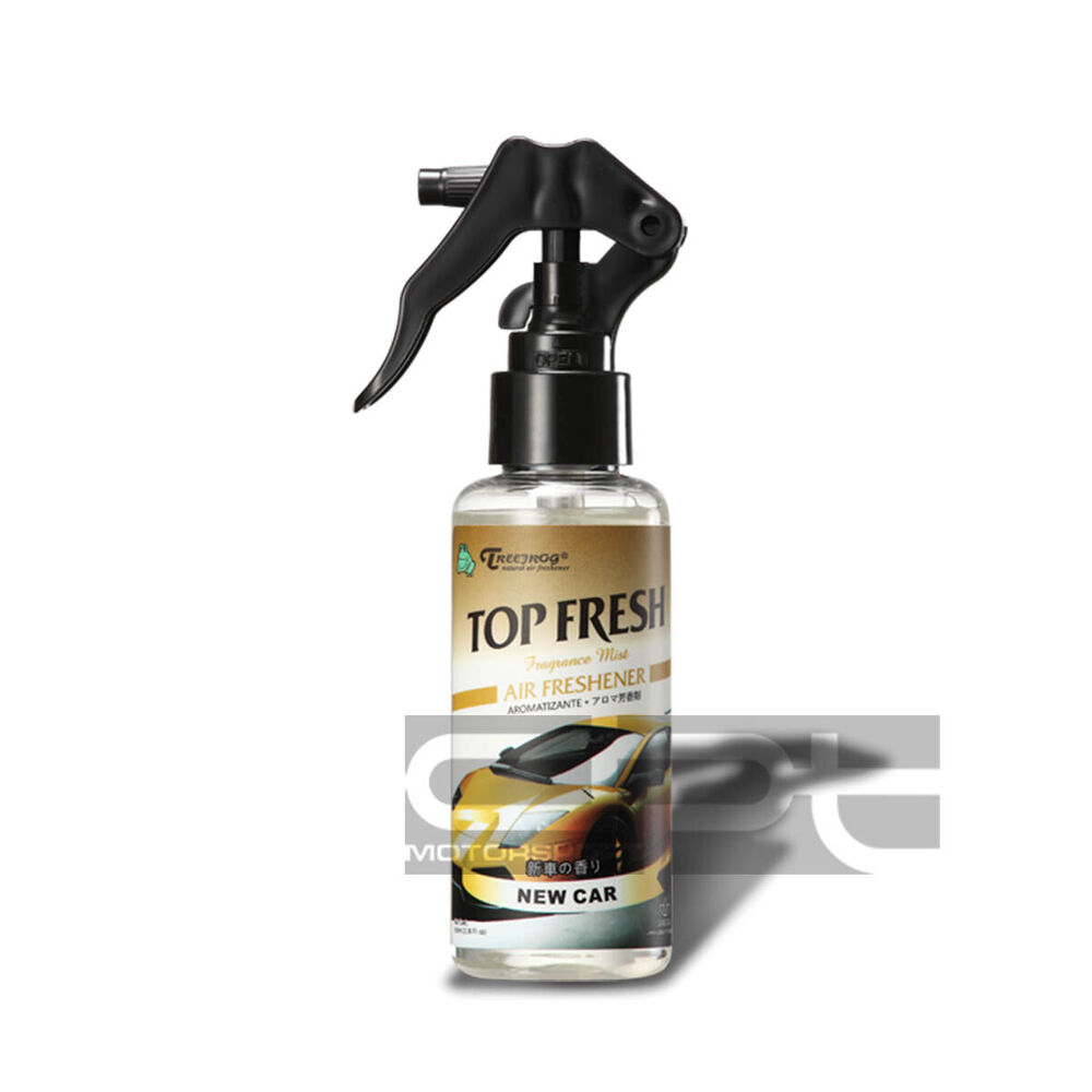 TREEFROG NEW CAR SCENT FRAGRANCE MIST BOTTLE SPRAY