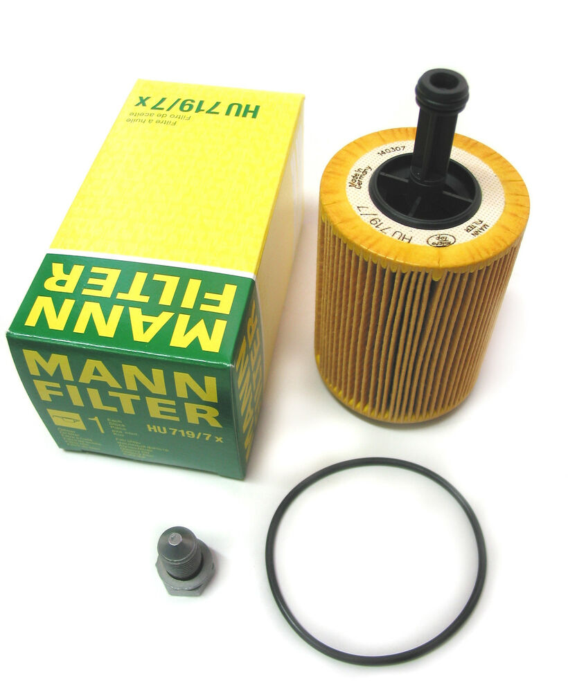 oem mann oil filter  u0026 sump plug for vw t5 transporter 1 9