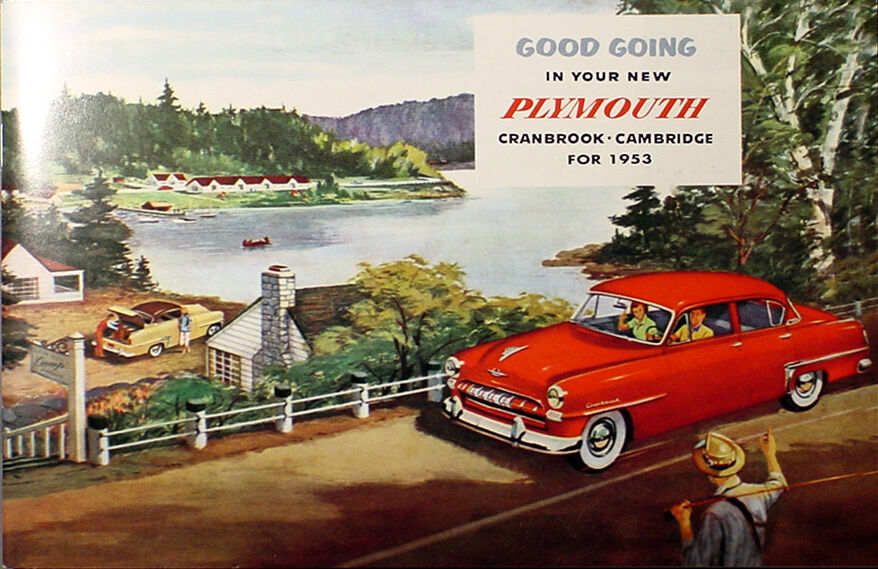 1953 Plymouth Owners Manual 53 Owner Guide Crankbrook
