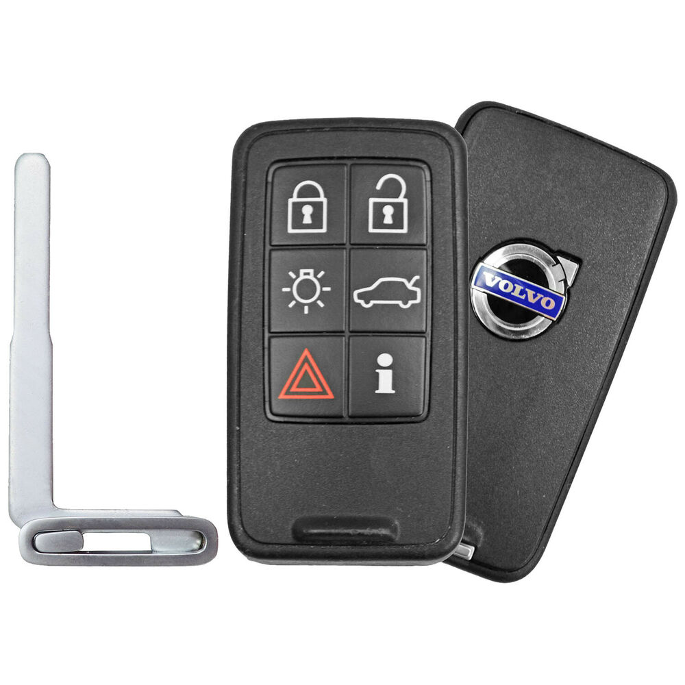 Smart Prox Remote Relacement With Key For Volvo Ebay
