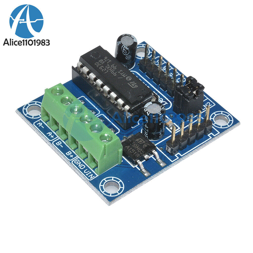 2pcs mini motor drive shield expansion board l293d module for arduino uno mega ebay Arduino mega 2560 motor shield