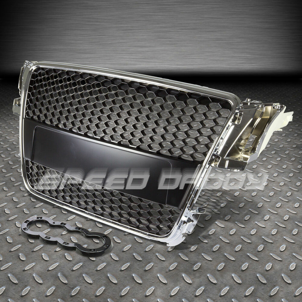 audi a5 typ 8t rs chrome abs front bumper frame grill. Black Bedroom Furniture Sets. Home Design Ideas