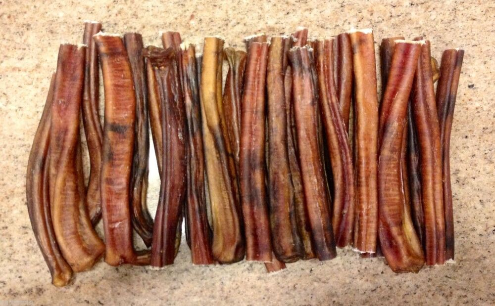 50 6 usa made regular beef bully sticks dog treat chew natural grass fed ebay. Black Bedroom Furniture Sets. Home Design Ideas