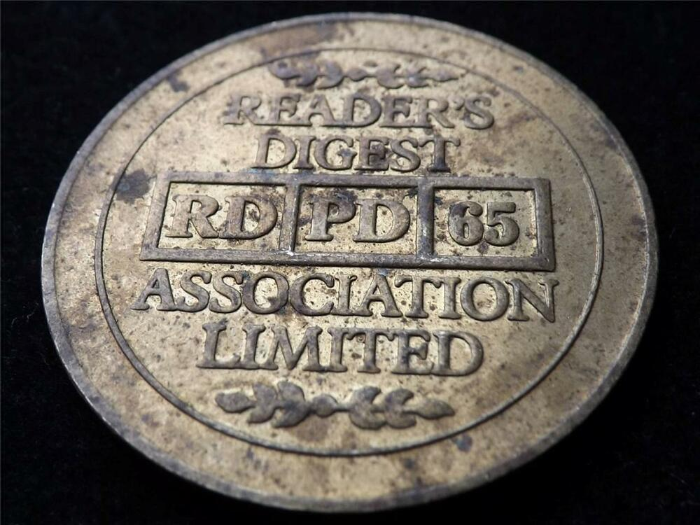 OLD READERS DIGEST TOKEN / COIN
