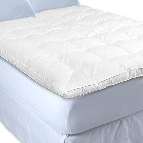 New Queen Down Featherbed Feather Bed Mattress Topper Ebay