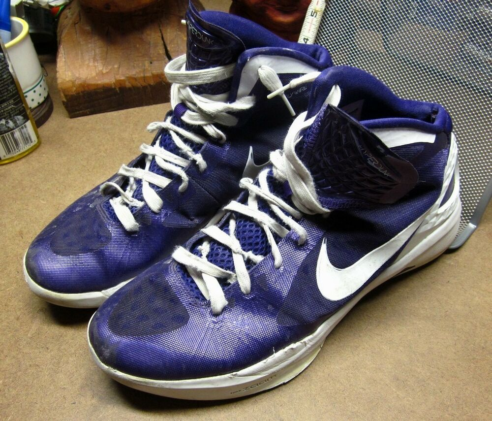 nike hyperdunk purple zoom tennis shoes 2011 size 12 189