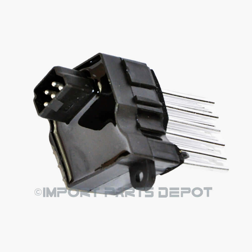 Bmw ac heater blower regulator resistor final stage unit for Blower motor for ac unit