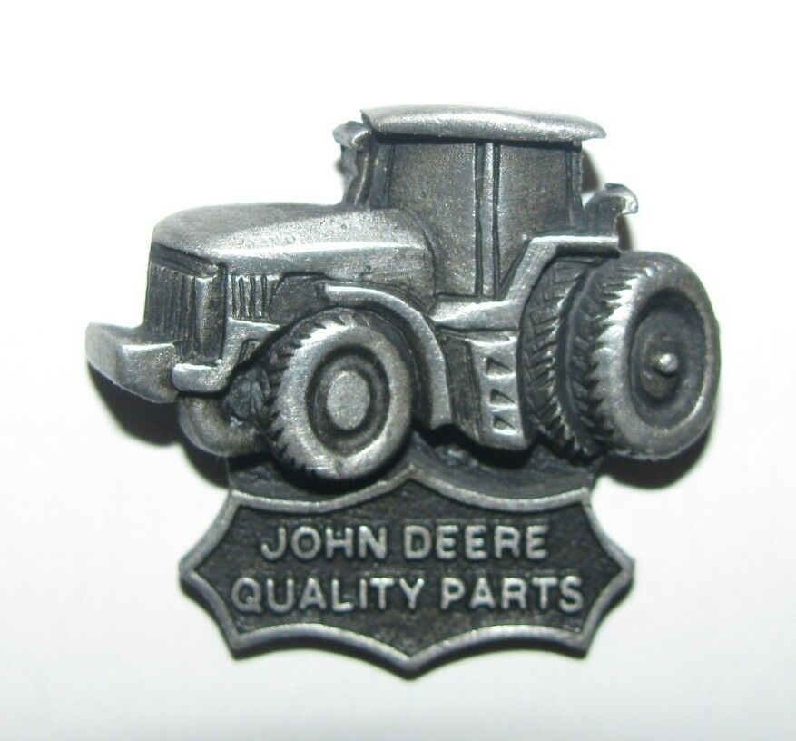 john deere tractor quality parts hat lapel pin farm ag badge tac jd ebay. Black Bedroom Furniture Sets. Home Design Ideas