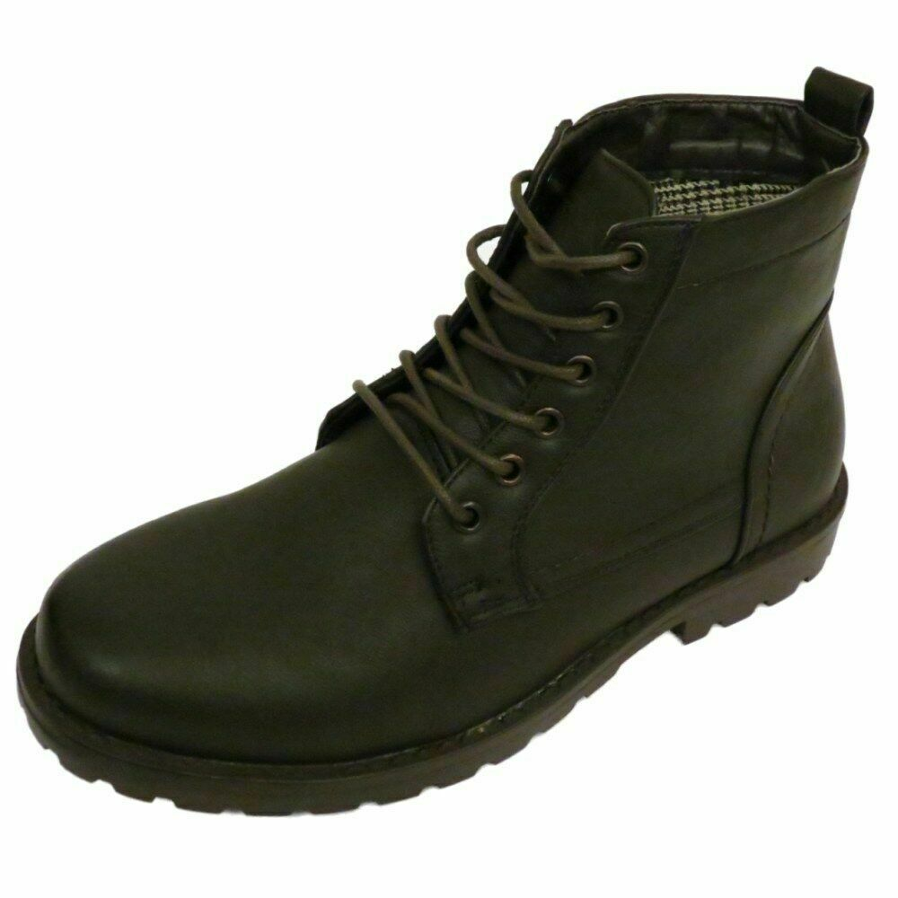 Brown Ankle Shoes Mens