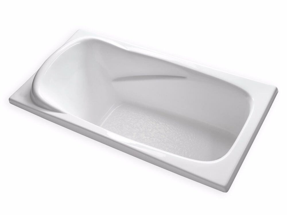 Carver tubs at7135 71 x 35 large soaking bathtub with for Built in tub