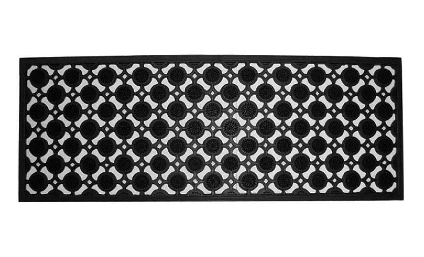 Door mats palisades recycled rubber doormat 18 x 47 for Door mats amazon