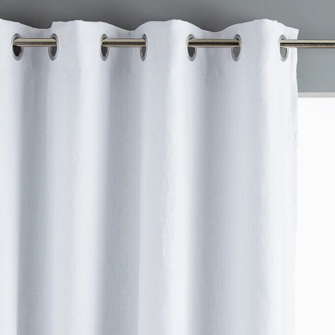 "Curtains Ideas curtain liner blackout : NEW ""EYELET SRC"" RING TOP BLACKOUT CURTAIN LININGS BLACK ..."