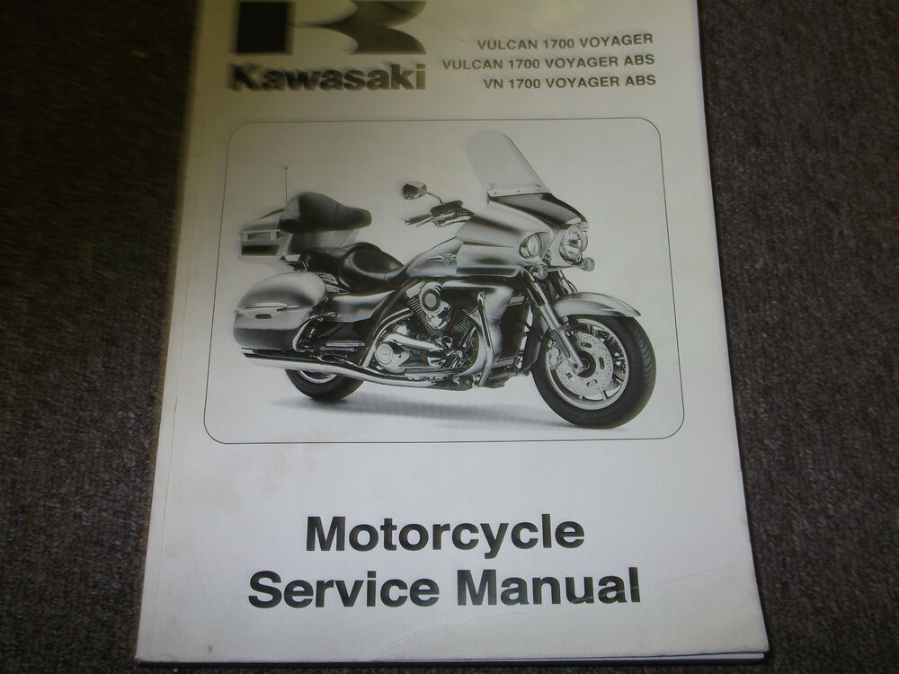 Kawasaki 1700 Service Manual