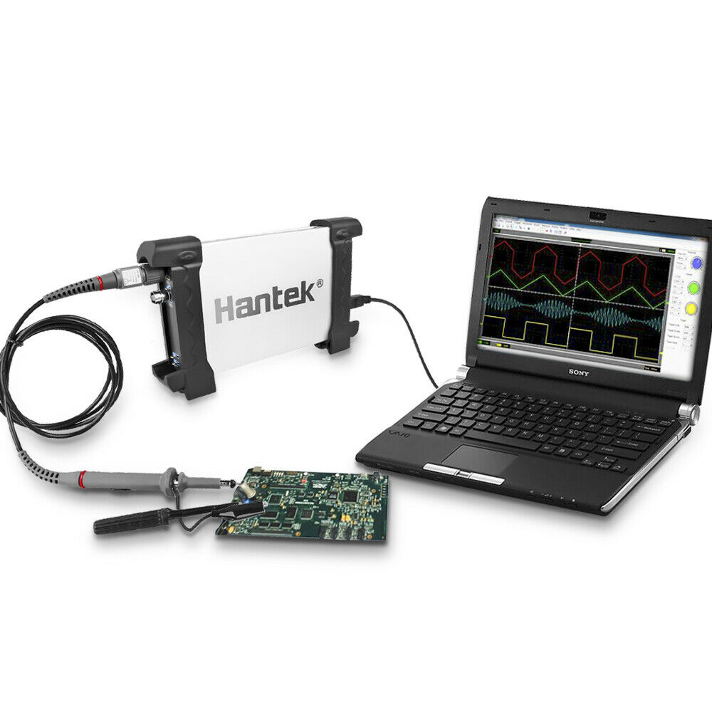 Digital Oscilloscope Pc : Hantek be pc based usb digital storage oscilloscope