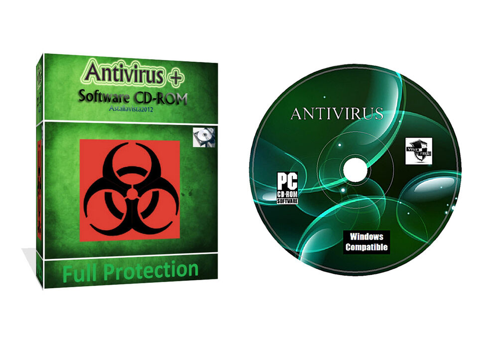 antivirus security spyware data protection software cd for all windows ebay. Black Bedroom Furniture Sets. Home Design Ideas