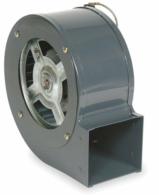 Dayton Electric Blowers : Dayton model tdt blower cfm rpm v