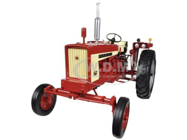 International 504 Tractor : Farmall gas wide front tractor w weights speccast