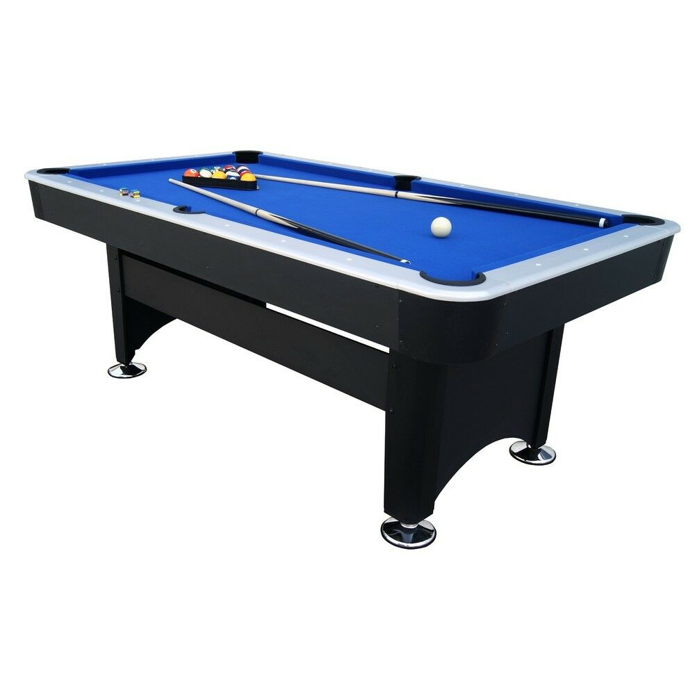 7ft pub size pool table snooker billiard with full accessories package blue ebay - Billiard table accessories ...