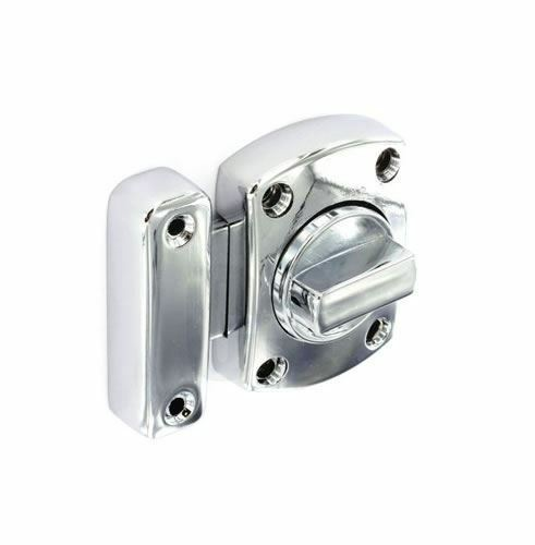 Securit S5456 Chrome Superbolt Bathroom Toilet Door Lock