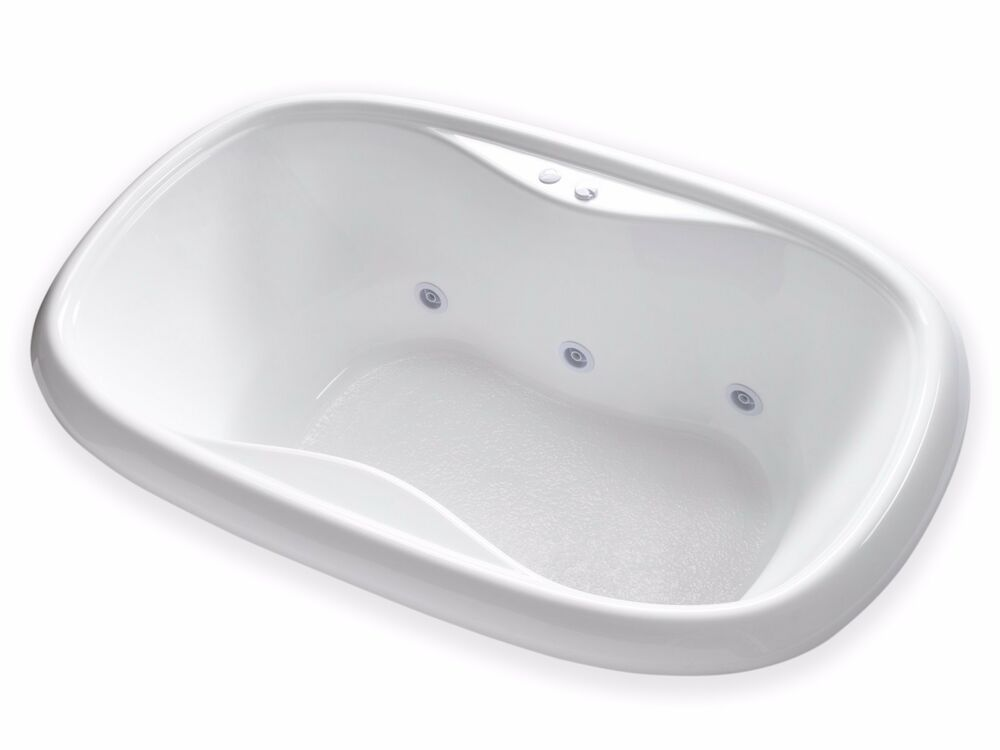 Carver Tubs Tod6841 68 Quot Classic Oval Whirlpool Bathtub