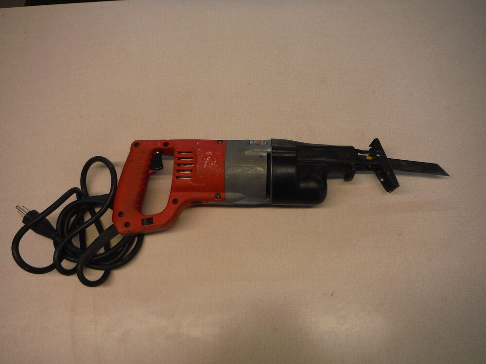 Milwaukee Sawzall 120v 4 0a Heavy Duty