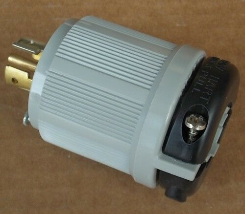 New Arrow Hart 6472 20 Amp 120  208 Volts 4 Pole 3 Phase 5 Wire Locking Plug