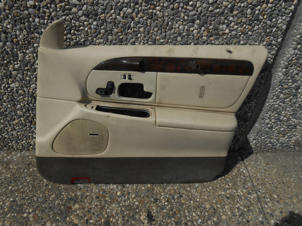 1998 2002 lincoln towncar town car right front passenger - Lincoln town car interior door parts ...