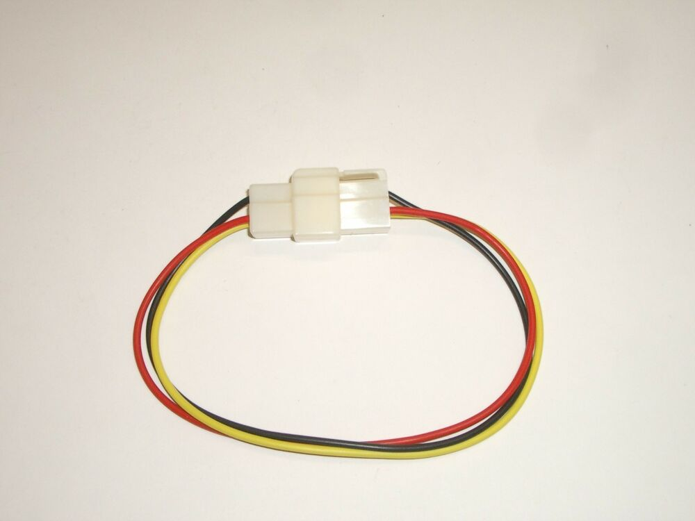 Mpj 17857cb 3 Pin 0 250 U0026quot  18ga Extension Power Cable Cord