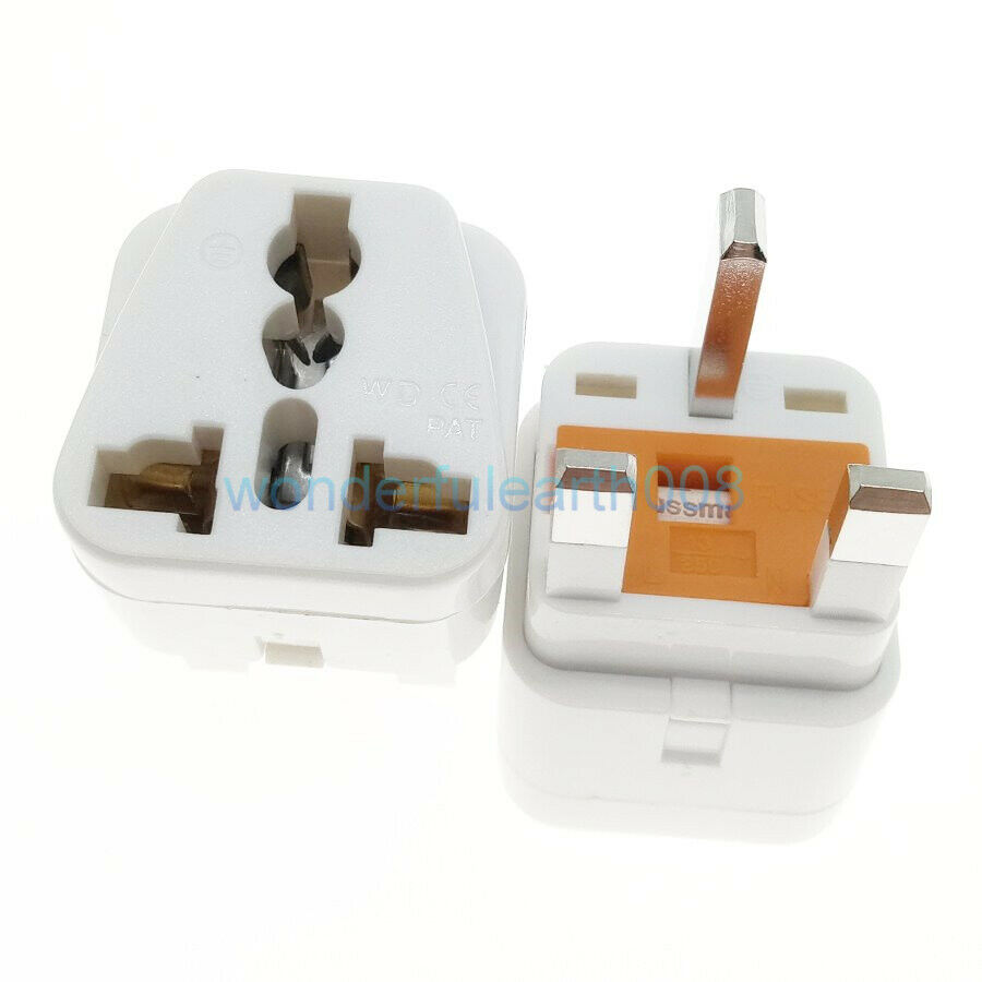 Uk Ireland Travel Adapter 13 Amp Fused British Type G