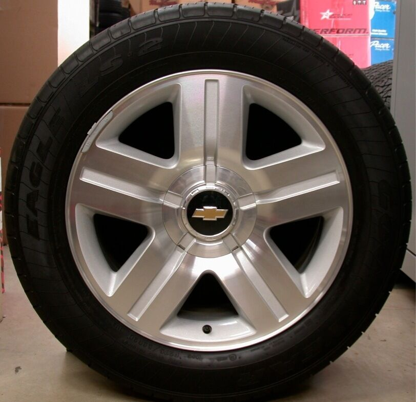"Z Rated Tires >> NEW Chevy Z71 Z-71 Silverado Tahoe Suburban Avalanche 20"" Wheels Rims Tires 