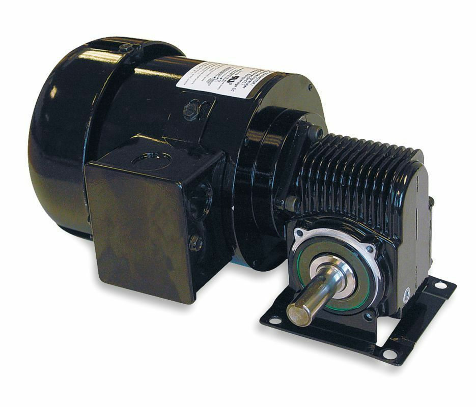Dayton model 3xa89 ac gear motor 88 rpm 1 4 hp tefc 115 for 4 rpm gear motor