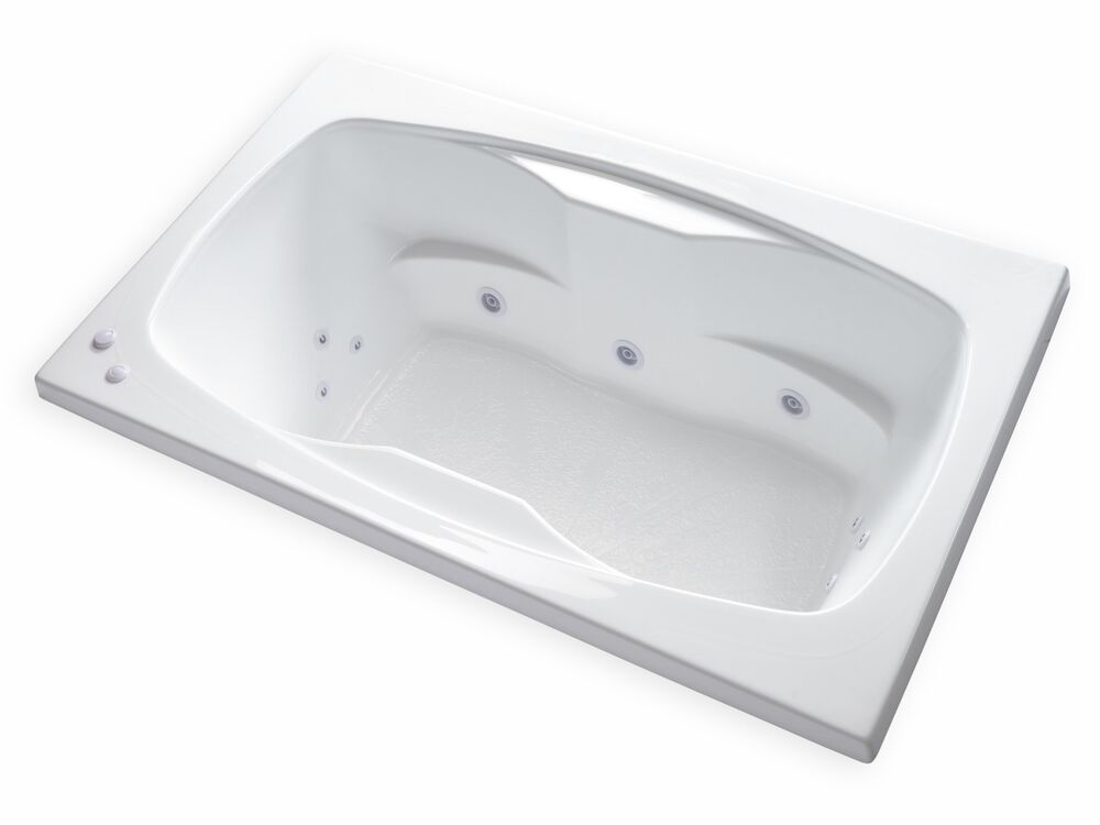 Carver Tubs Ar6042 60 Quot X 42 Quot Drop In Center Drain White 12