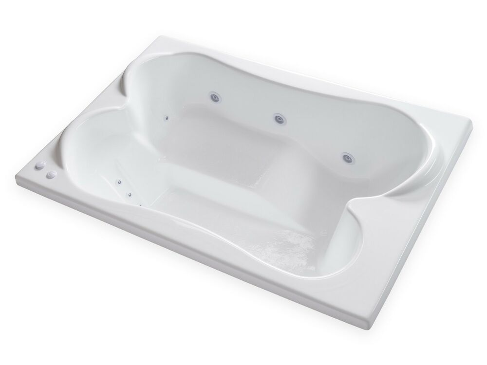 Carver Tubs TPL7248 72 By 48 Drop In Center Drain 12 Whirlpool Je