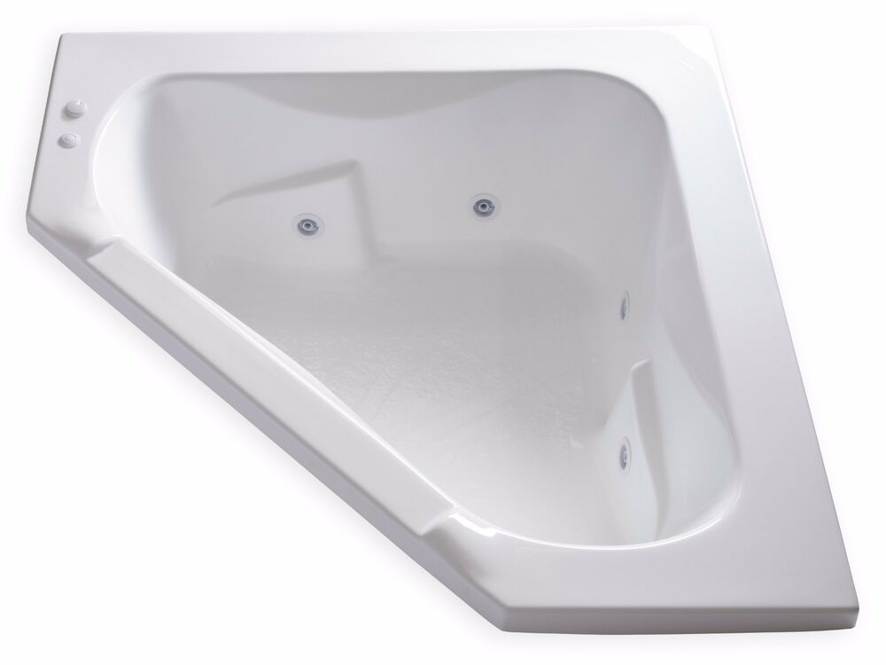 carver tubs ct6060 60 x 60 drop in corner jetted