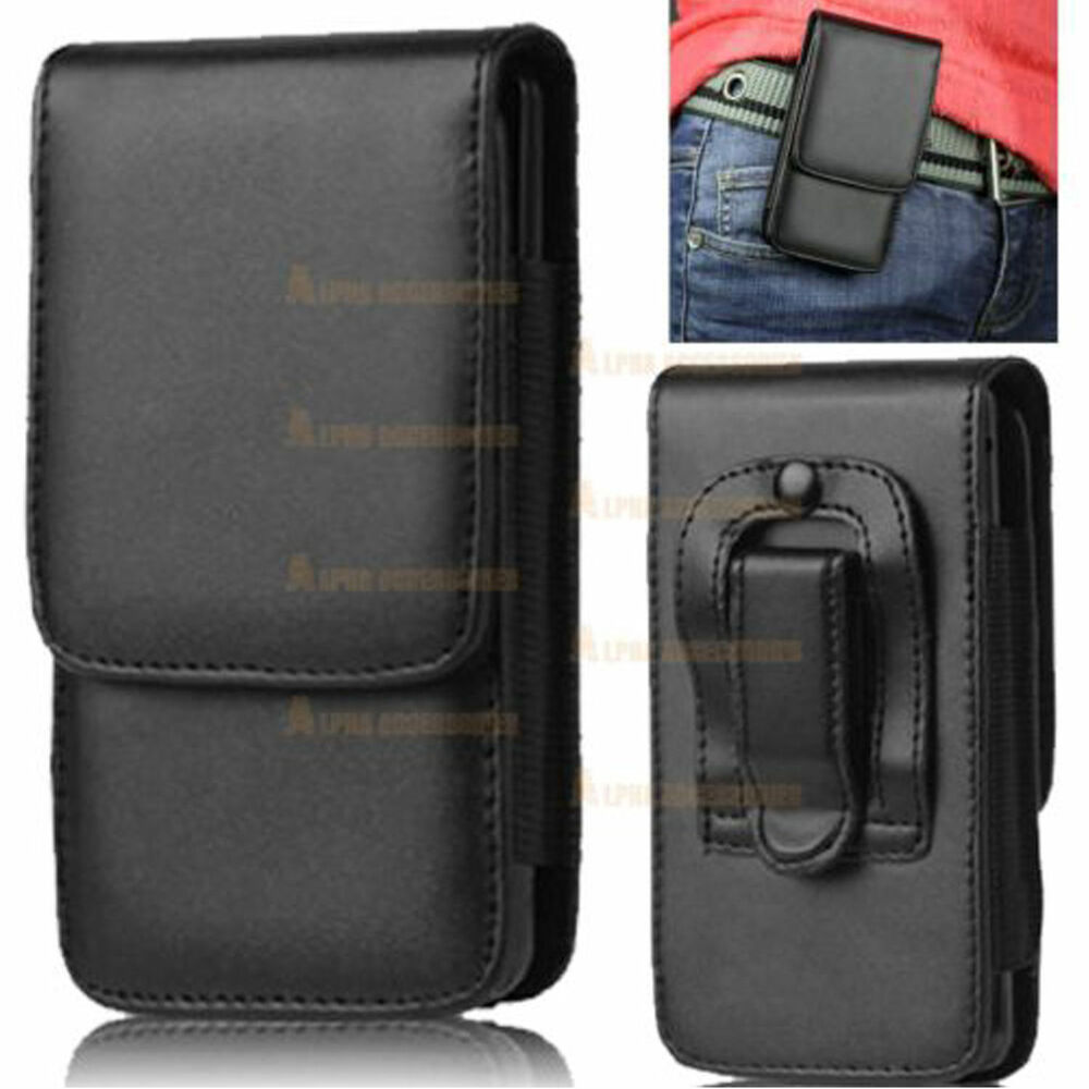 leather flip belt clip hip loop pouch cover holster