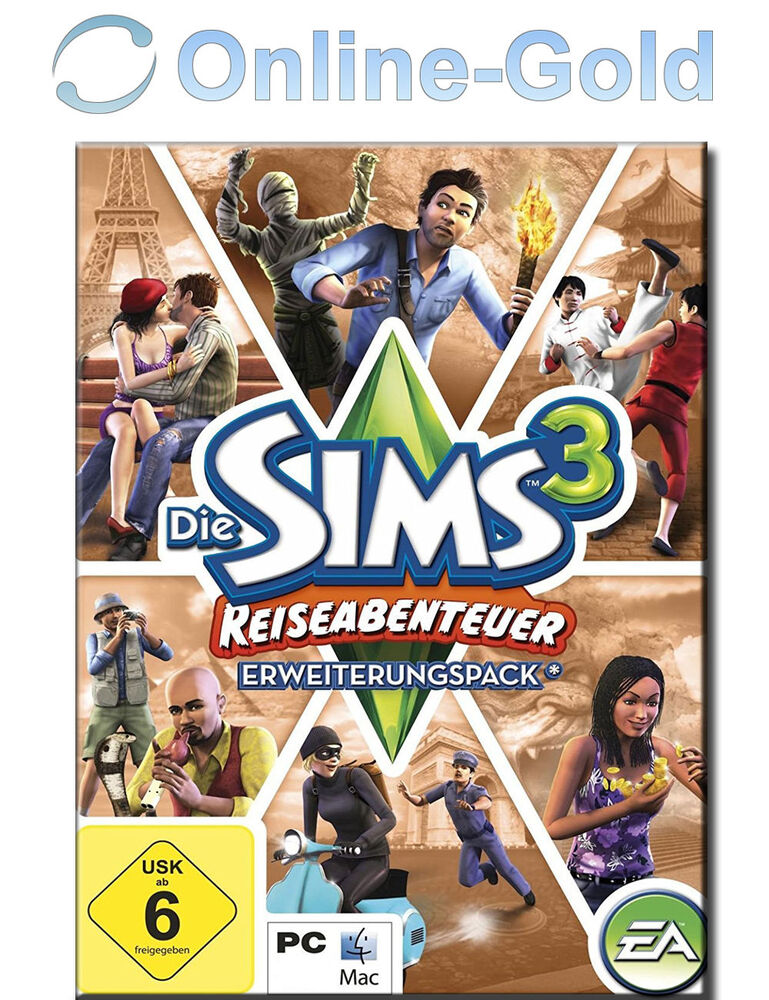 Sims 3 - World Adventures Key / Reiseabenteuer EA/ORIGIN Download Code Addon PC | eBay
