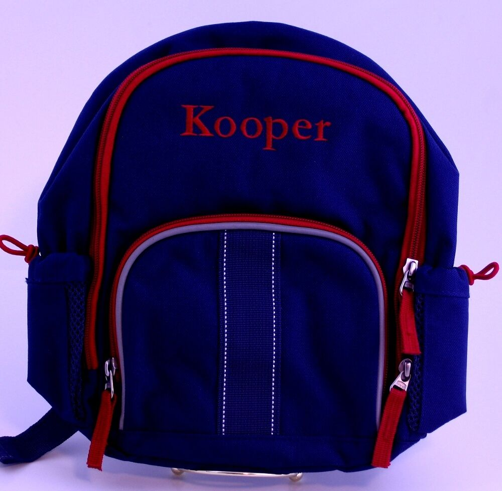 Pottery Barn Kids Fairfax Preschool Backpack Kooper Ebay