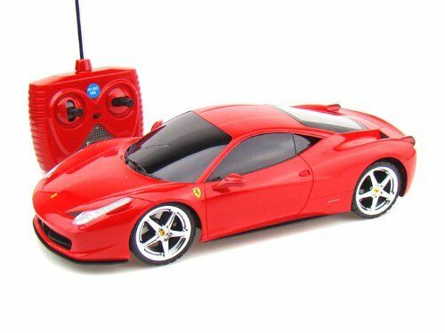 XQ R/C RADIO REMOTE CONTROL CAR FERRARI 458 ITALIA RED 1 ...