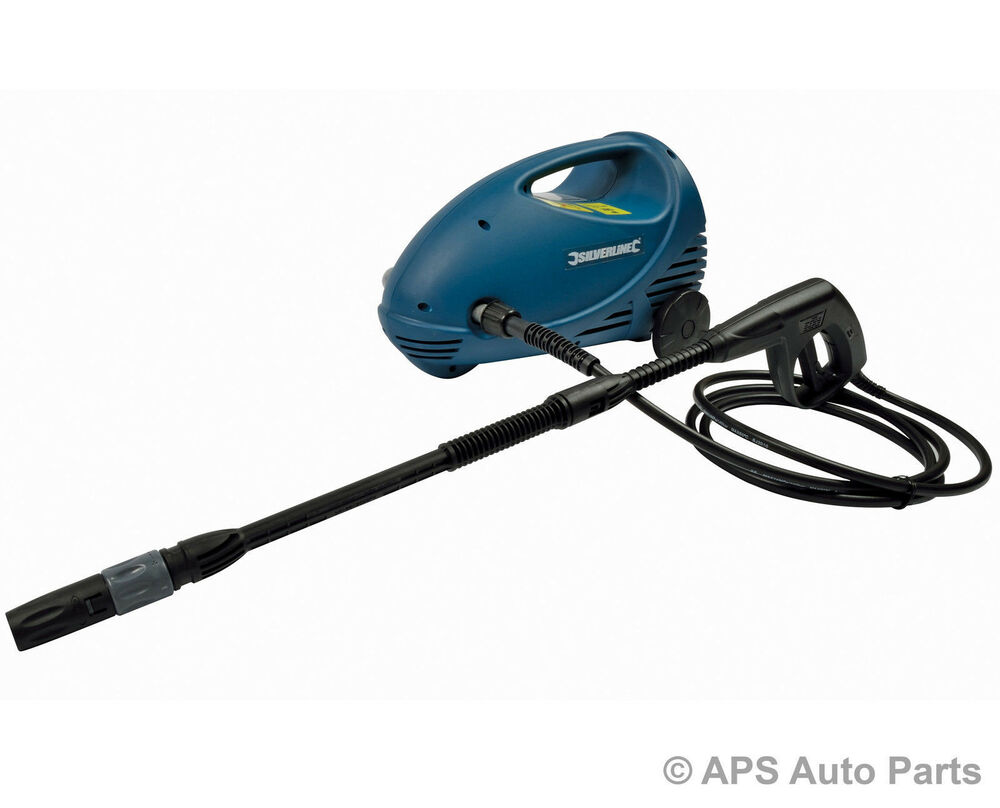 New Power Pressure Washer Cleaner 1350w Motor 125 Max Bar