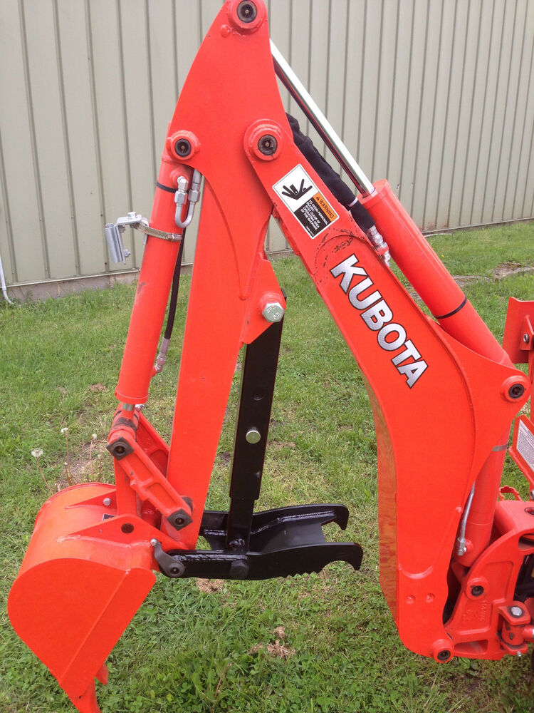 Kubota B7100 Muffler : Kubota bx d bolt on backhoe thumb fits