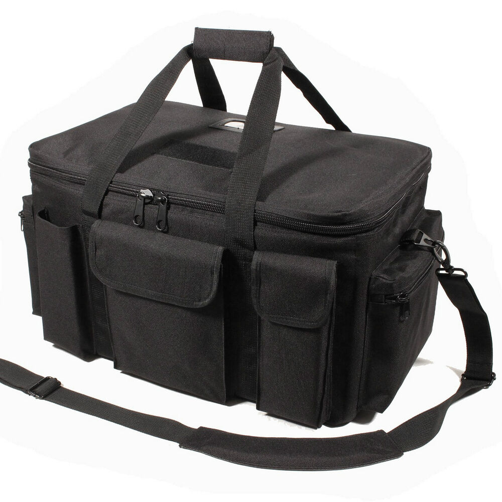 New Protec M25 Black Police Tactical Duty Bag Holdall Ebay