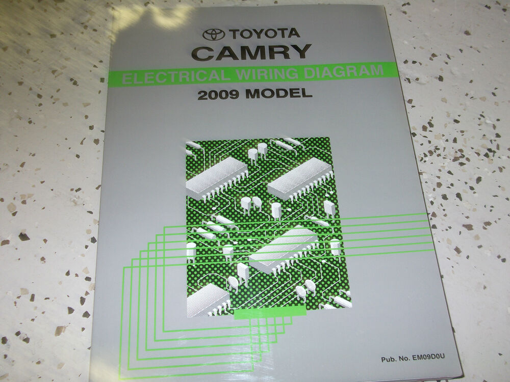 2009 Toyota Camry Electrical Wiring Diagram Troubleshooting Ewd Shop Manual Ewd