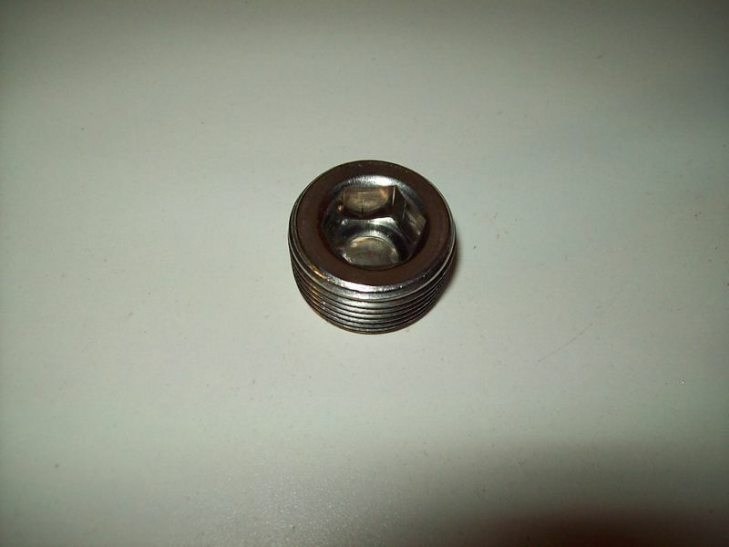 Quot npt stainless steel hex socket pipe plug pc
